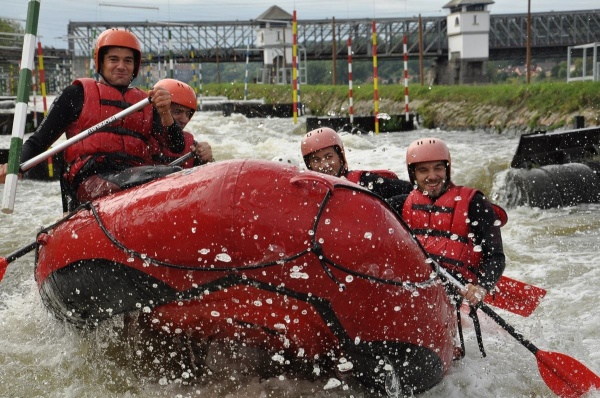 white water rafting exclusive stag activity prague stag fun weekend